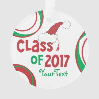 Personalized Funny © Class 2017 Grad Tassel Ornament