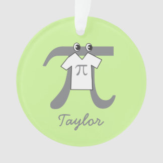 Personalized Funny Pi Guy - Pi Day Math Themed