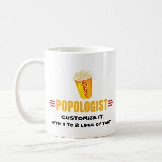 Personalized Funny Popcorn Coffee Mug