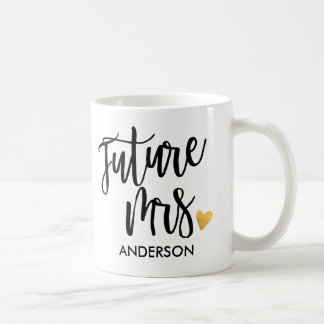 Personalized,Future Mrs.2 Coffee Mug