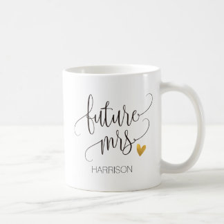 Personalized,Future Mrs.-3 Coffee Mug