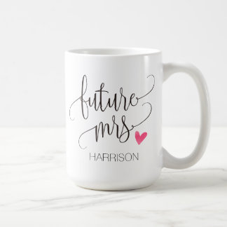 Personalized,Future Mrs.-4 Coffee Mug
