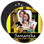 Personalized gambler buttons
