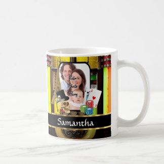Personalized gambler coffee mug