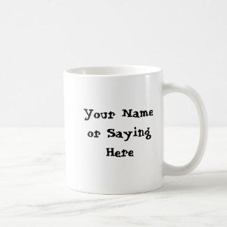 Personalized Gardener Saying Basic White Mug