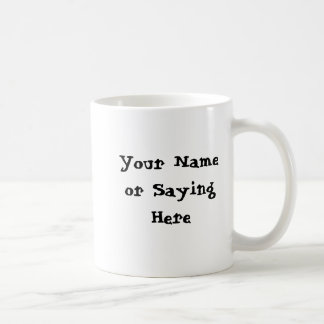 Personalized Gardener Saying Basic White Mug