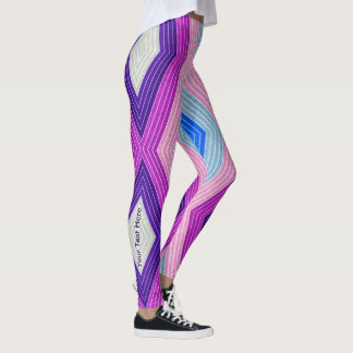 Personalized Geometric Leggings