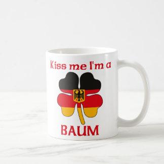 Personalized German Kiss Me I'm Baum Basic White Mug