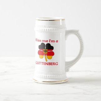 Personalized German Kiss Me I'm Guttenberg Beer Steins