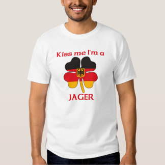 Personalized German Kiss Me I'm Jager Shirts