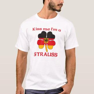 Personalized German Kiss Me I'm Strauss T-Shirt