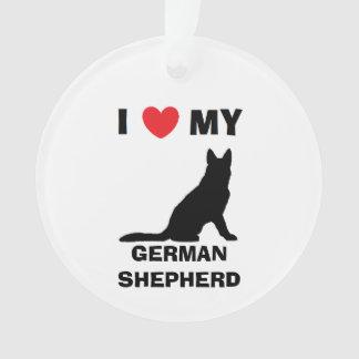 Personalized German Shepherd Ornament