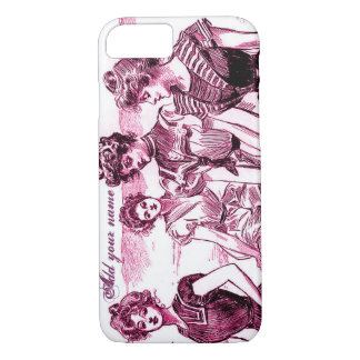 Personalized Gibson Girl iPhone 7 Case