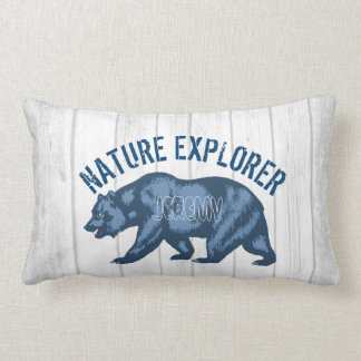 Personalized Gift for Nature Animal Wildlife Lover Lumbar Pillow