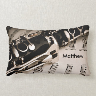 Personalized Gifts for Oboists Clarinetists Lumbar Cushion