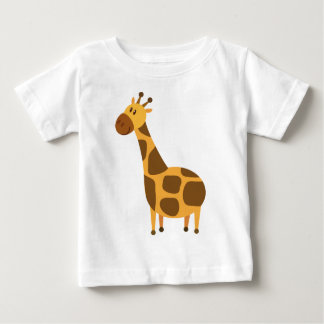 Personalized Giraffe Kids Cartoon Gift Baby T-Shirt