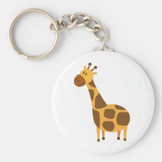 Personalized Giraffe Kids Cartoon Gift Key Chain