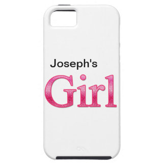 Personalized Girl Tough iPhone 5 Case