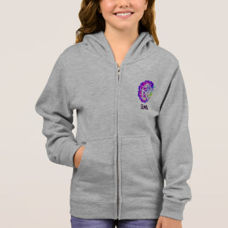 Personalized Girls Gymnastics Hoodie with Zipper