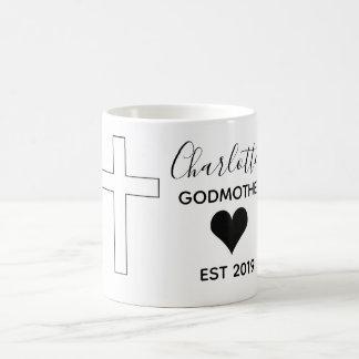 Personalized godmother mug
