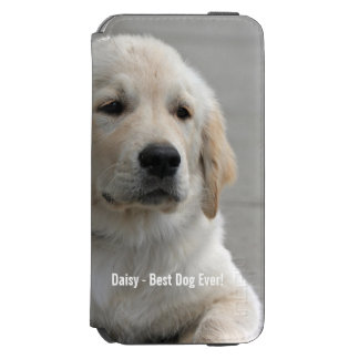 Personalized Golden Retriever Dog Photo and Name Incipio Watson™ iPhone 6 Wallet Case