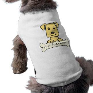 Personalized Golden Retriever Sleeveless Dog Shirt
