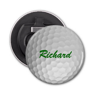 Personalized Golf Ball Bottle Opener