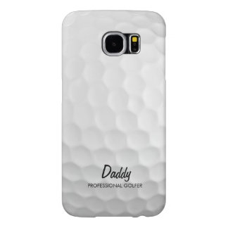 Personalized Golf Ball Samsung Galaxy S6 Cases