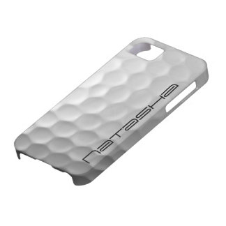 Personalized Golf Ball Dimples Texture Pattern iPhone 5 Covers