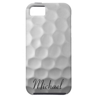 Personalized Golf Ball iPhone 5s Case White Golf