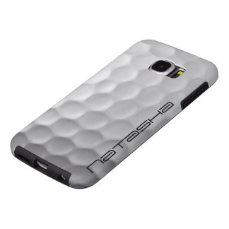 Personalized Golf Ball Samsung Galaxy S6 Case