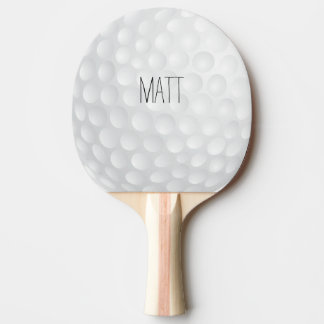 Personalized Golf Lodge Ping-Pong Paddle