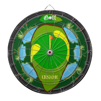 Personalized Golf Multi-Hazard Dartboard