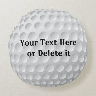 Personalized Golf Pillows YOUR TEXT or Delete Text