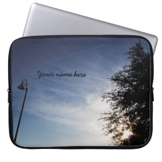Personalized Good Morning Laptop Sleeve