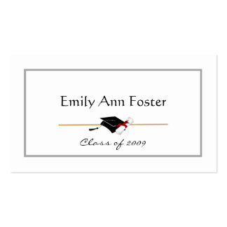 Personalized Graduation Name Cards Business Card