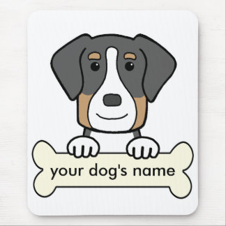 Personalized Greater Swiss Mountain Dog Mouse Pad