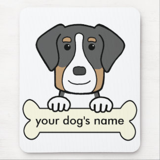 Personalized Greater Swiss Mountain Dog Mousepads