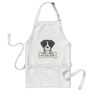 Personalized Greater Swiss Mountain Dog Standard Apron