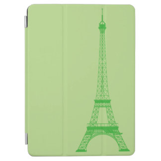 Personalized Green Eiffel Tower iPad Air Cover