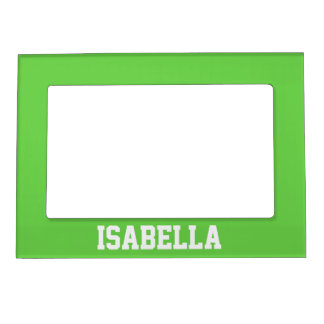 Personalized Green Magnetic Frame