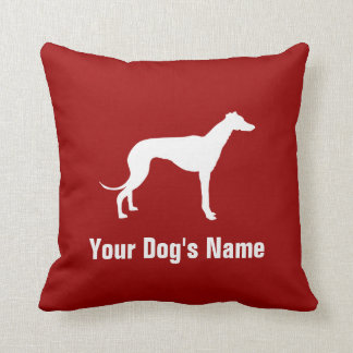 Personalized Greyhound グレイハウンド Cushion
