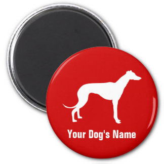 Personalized Greyhound グレイハウンド Magnet