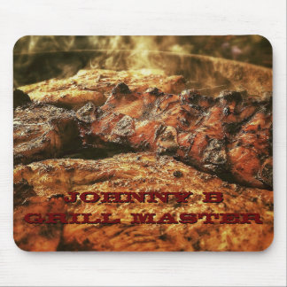 Personalized Grill Master Barbecue Mouse Pad