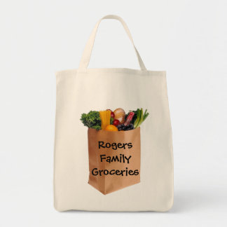Personalized Grocery Bag - Go Green!
