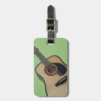 Personalized Guitar Luggage Tag