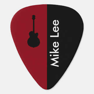 personalized guitar star plectrum