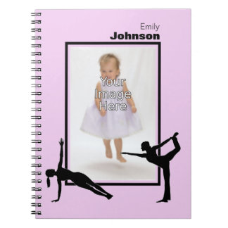 Personalized Gymnastics Notepad Notebooks