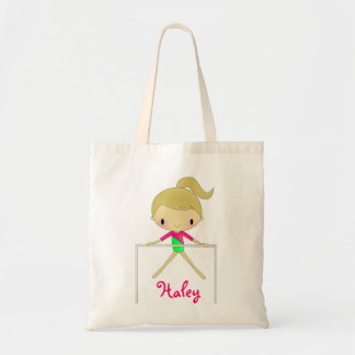 Personalized gymnastics tote bag