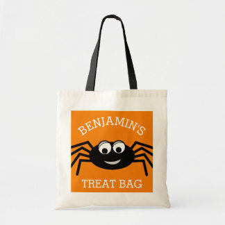 Personalized Halloween Cute Cartoon Spider Treat